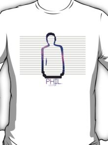 Phil Lester Galaxy Outline T-Shirt