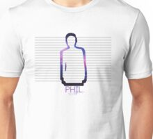Phil Lester Galaxy Outline Unisex T-Shirt
