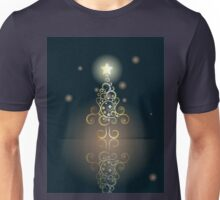 Card with Decorative Christmas Tree 2 Unisex T-Shirt
