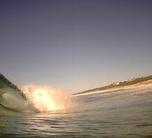wave-barrell by jesse ashenden-lake