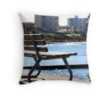 Beach Seat Throw Pillow
