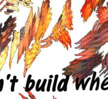 WILDFIRE  Sticker