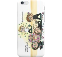 Flower Fight iPhone Case/Skin