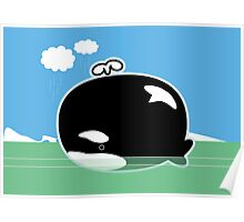 Little Lost Orca Poster