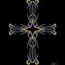 Wild Rainbow Cross by Mystikka
