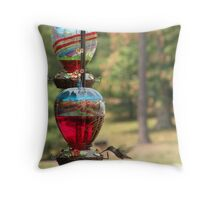 ecologically responsible hummer Throw Pillow