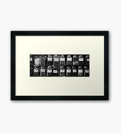 Cough Framed Print
