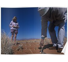 Exploring the Namib Desert with expert guides Poster