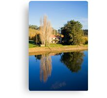 Mirror Image at Appletree Cottage Canvas Print
