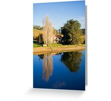 Mirror Image at Appletree Cottage Greeting Card