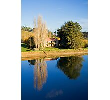 Mirror Image at Appletree Cottage Photographic Print