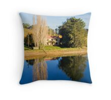 Mirror Image at Appletree Cottage Throw Pillow