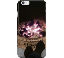 Toasting tootsies iPhone Case/Skin
