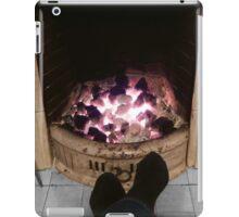 Toasting tootsies iPad Case/Skin