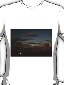 Monument Valley and Clouds.stars T-Shirt