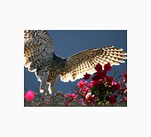 Cooper's Hawk Hunting In Bougainvillea Unisex T-Shirt