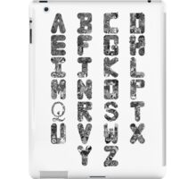 A-Z Alphabet iPad Case/Skin