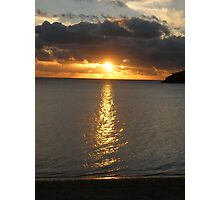 Lord Howe Island Sunset Photographic Print