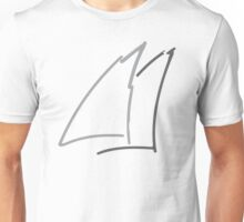Abstract Sail Unisex T-Shirt