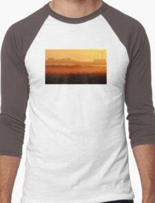 Looking Out Men's Baseball ¾ T-Shirt