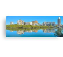 Townsville on Ross creek,HDR Canvas Print