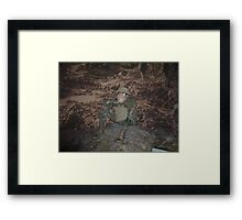 Army person - Australian War Memorial (Canberra) Framed Print