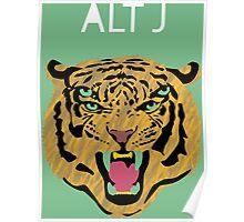 Alt-J Tiger Poster