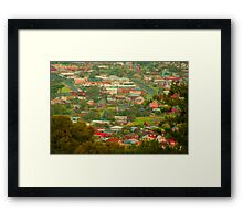 Toy Town Framed Print