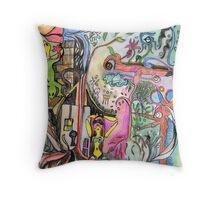 The Clash Throw Pillow