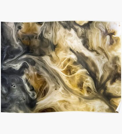 Purgatory Watercolor Abstract Painting Poster