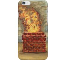 Circus Tent and Chimney Fire iPhone Case/Skin
