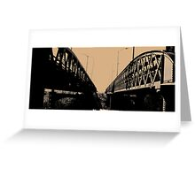 A Bridge Too Far Greeting Card