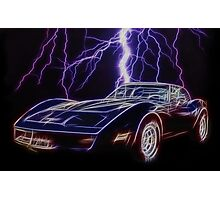 Lightning Fast Photographic Print