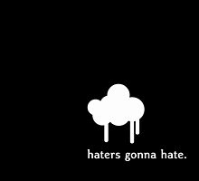 Haters gonna hate by pithypenny