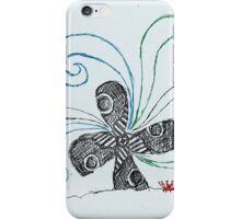 ship propeller sketch iPhone Case/Skin