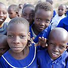 Masai Children.  by Pauline