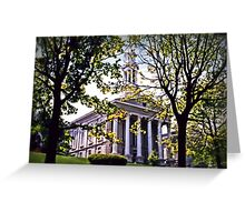 Court House, Easton Greeting Card