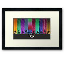 Hyrulian Warriors Framed Print