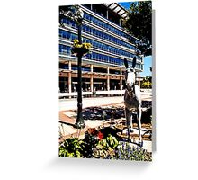 PPL plaza, Allentown Greeting Card