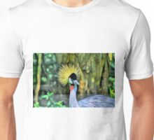 West African Grey Crowned Crane Unisex T-Shirt