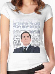 World's Best Boss Women's Fitted Scoop T-Shirt