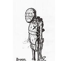 Broken Robot #1  Photographic Print