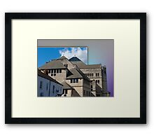 York Modern architecture out of bounds Framed Print