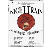 Bayou Vermillion Night Train Tour Design iPad Case/Skin