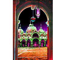 Saint Marks Basillica,  Venice,  Italy. Photographic Print