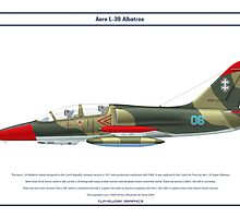 Aero L-39 Lithuania 1 by Claveworks