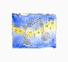 Electric Blues Notes Unisex T-Shirt