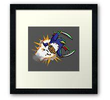 Prinny Explosion! Framed Print