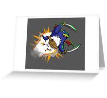 Prinny Explosion! Greeting Card