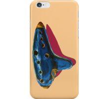 Pop Art-Inspired Ocarina  iPhone Case/Skin